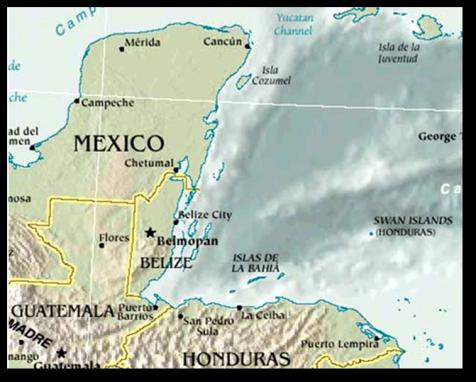 Guatemala Sunken cities - East